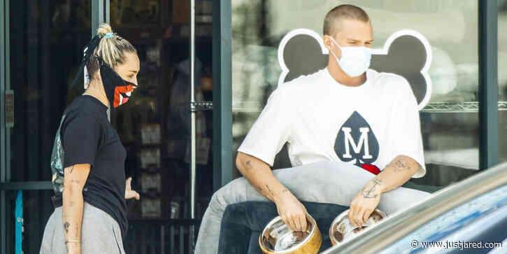 Miley Cyrus & Cody Simpson Grab Dog Supplies Amid Pandemic