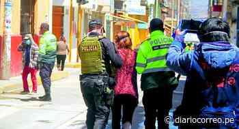 Chupaca: Familia agrede a cuatro policías que exigían el uso de mascarillas - Diario Correo