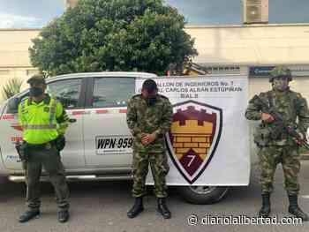 Capturaron a falso coronel del Ejército en Acacías - Diario La Libertad