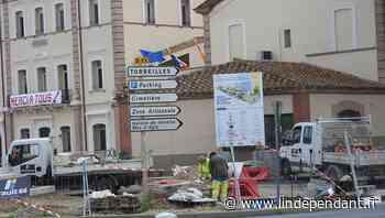 Les travaux en ville ont repris à Saint-Laurent-de-la-Salanque - L'Indépendant