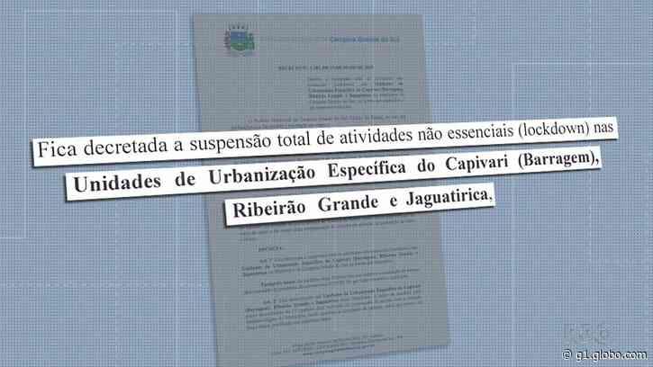 Coronavírus: Prefeitura de Campina Grande do Sul decreta 'lockdown' em três localidades da área rural da cidade - G1