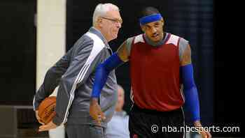 Charley Rosen: Carmelo Anthony would've been Michael Jordan in triangle