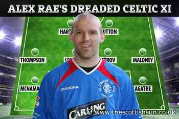 Ex-Rangers star Alex Rae names the best Celtic XI he ever faced in Old Firm games - The Scottish Sun