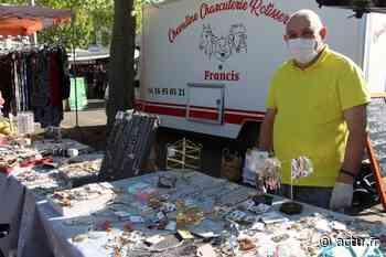 A La Madeleine, ambiance partagée pour le retour des exposants non-alimentaires au marché - actu.fr