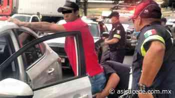 Detienen en Ocoyoacac a presunto ladrón de un reloj de alta gama - Noticiario Así Sucede