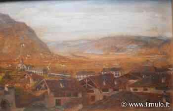 Ecco com'era Mezzolombardo all'inizio dell'Ottocento: la straordinaria veduta in un quadro riscoperto - ilMulo.it