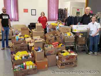 Food drive a success - Nipawin Journal