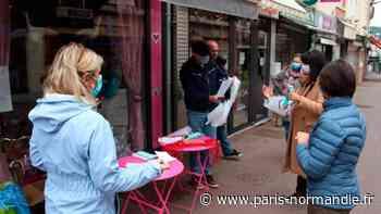 Coronavirus. Des masques et visières pour les commerçants à Lillebonne - Paris-Normandie