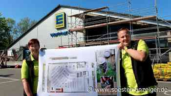 Baustart am Edeka-Markt in Niederense | Ense - soester-anzeiger.de