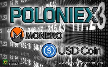 Poloniex: USD Coin [USDC] Now Traded Against Monero [XMR] - Crypto Economy