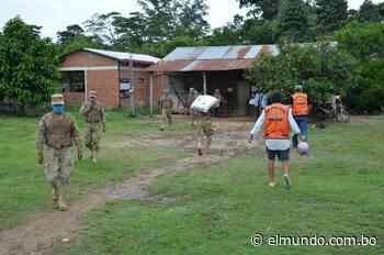 Entregan víveres a familias necesitadas en Rurrenabaque   EL MUNDO - Diario Líder de Información en Bolivia - El Mundo (Bolivia)