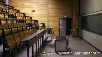 """Paris-Saclay : un prof suspendu pour avoir organisé un examen """"facile"""" en solidarité avec ses étudiants - http://www.revolutionpermanente.fr/Section-Politique"""