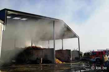 Brand in Klerkenstraat in Langemark-Poelkapelle zorgt voor rookhinder - Krant van Westvlaanderen
