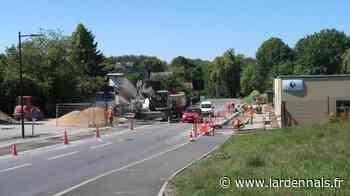 Un dernier chantier pour l'entrée de Rethel - L'Ardennais