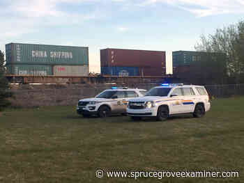Pedestrian struck and killed by train in Stony Plain - Spruce Grove Examiner
