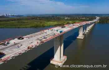 Nova Ponte do Guaíba será liberada ao tráfego em 2020 - Clic Camaquã - Portal de Notícias