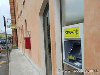 Nuovo Atm Postamat presso l'ufficio postale di Concordia sulla Secchia - Modena 2000