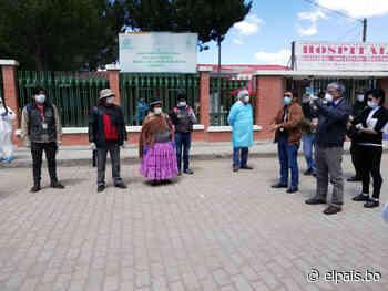 Extreman esfuerzos para 'encapsular' Patacamaya | El País Tarija - El País