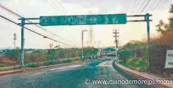 Avenidas llenas de baches en Emiliano Zapata - Diario de Morelos