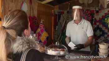Dreux : les restaurateurs bénéficient des chalets du marché de Noël pour la vente à emporter - Franceinfo