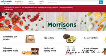 Morrisons and Amazon extend delivery service