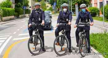 Per la polizia locale di Oderzo arrivano le biciclette. - Oggi Treviso