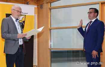 Christoph Brunner als neuer Bürgermeister vereidigt - Arnstorf - Passauer Neue Presse