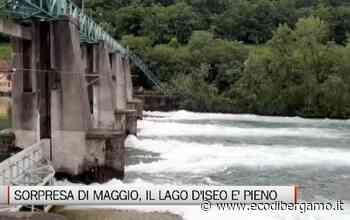 Lago d'Iseo pieno, vicino il limite massimo consentito - L'Eco di Bergamo