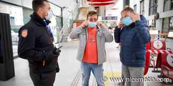 """""""Certains s'en fichent du masque"""": inquiétude en gare SNCF de Cannes face à un incivisme sanitaire persistant"""