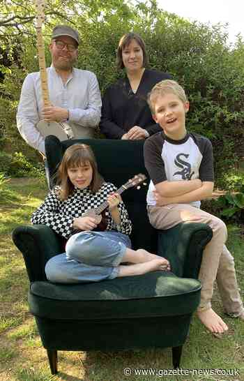 St Leonard's Reverend Matt Simpkins and family release charity LP - Gazette