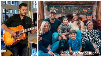 The Luke Bryan Family Journey to Raising 5 Kids (Video) - Country Fancast