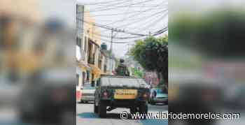 Refuerzan en Jiutepec operativo por pandemia - Diario de Morelos