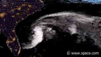 Satellites see Tropical Storm Arthur, the Atlantic's 1st named storm of 2020, from space