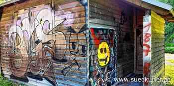 Stetten am kalten Markt-Storzingen: Unbekannte sprayen Graffitis an Grillhütte im Schmeiental und beschädigen Ausstattung - SÜDKURIER Online