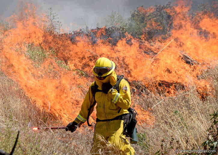 Fire agencies prepare to battle wildfires during a pandemic