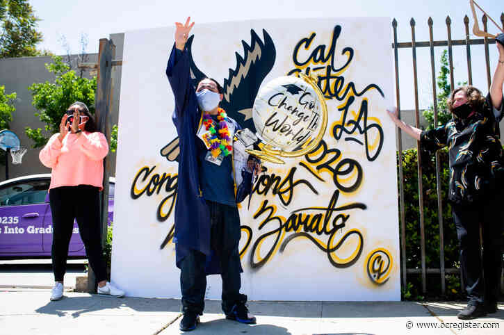 After years in prison for attempted murder, he graduates from Cal State LA with honors