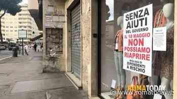 """Nel giorno della ripartenza la serrata dei commercianti romani: """"Senza aiuti non possiamo riaprire"""""""