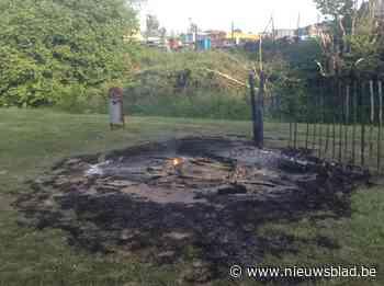 Brand gesticht achter gemeentehuis (Huldenberg) - Het Nieuwsblad