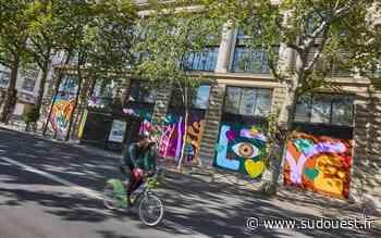 En images. Art : un peu d'Hossegor sur les murs de Paris grâce à Steven Burke - Sud Ouest