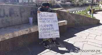 Joven de 22 años duerme en las calles de Huancavelica desde el 15 de marzo - Diario Correo