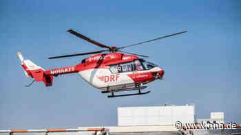 Unfall bei Kassel: Frau stürzte mit Motorrad - Rettungshubschrauber im Einsatz   Landau - HNA.de