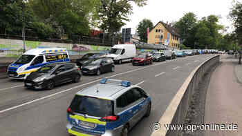 Konrad-Adenauer-Straße: Bauarbeiten stellen Autofahrer-Nerven auf die Probe | Hanau - op-online.de