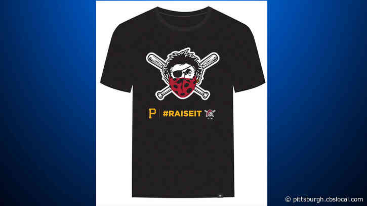 Pirates Debut New T-Shirt With 'Jolly Roger' Wearing Bandana As Face Mask, Proceeds Donated To Charity