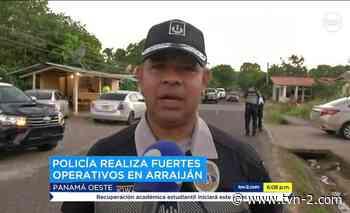 Noticias Policía realiza operativos en San Bernardino y Nuevo Arraiján - TVN Panamá