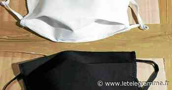 La distribution de masques commence ce lundi 18 mai à Ploemeur - Le Télégramme