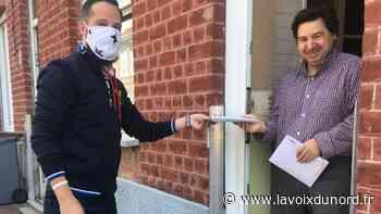 Wattrelos : les livraisons de masques à domicile, l'occasion de prendre le pouls d'un quartier - La Voix du Nord