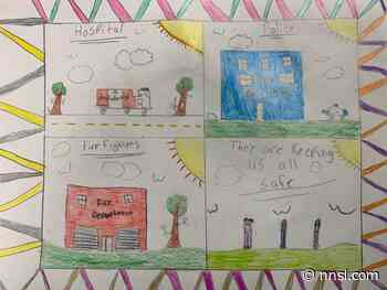 Colouring contest in Inuvik to honour essential services during National Nurses and Police week - NNSL Media