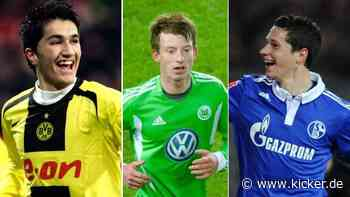 Jüngste Bundesliga-Debütanten pro Klub: Wirtz übertrumpft Havertz
