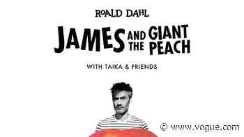Meryl Streep, Benedict Cumberbatch, and Director Taika Waititi to Perform 'James and and the Giant Peach' for COVID-19 Relief - Vogue