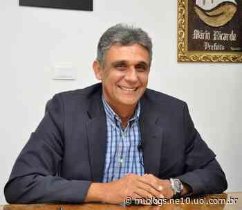 Em Igarassu, Mário Ricardo anuncia antecipação do salário - Blog de Jamildo - NE10